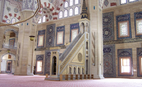 This Mosque is especially beautiful.