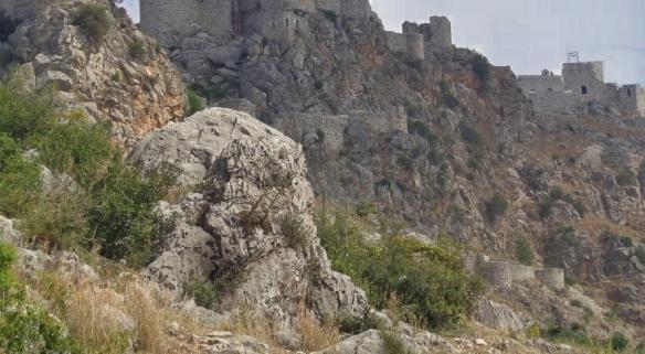 Graveled mountain path