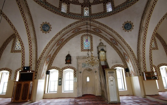 Interior of Habibi Neccar Mosque
