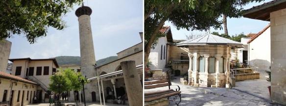 Courtyard of Habibi Neccar Cami