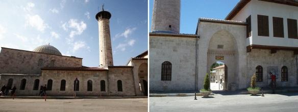 Habibi Neccar Cami and its entrance