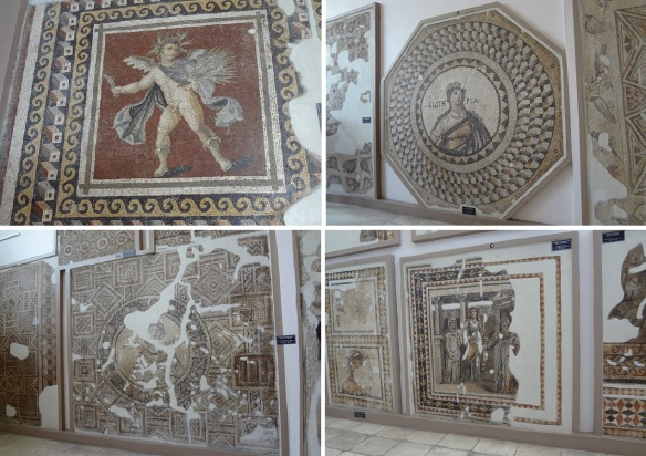 Mosaics of the Museum; Summer / Personification of Soteria / Mosaics of Ananeosis / Iphigleneia in Aulis