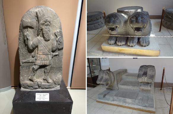Unique carvings, Zeus and column bases