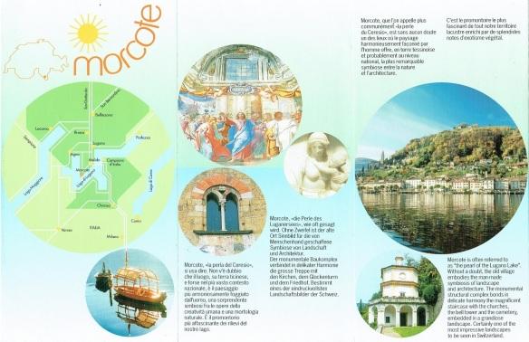 Brochure of Morcote