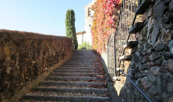 From here, you have to climb 400 steps of stairs.