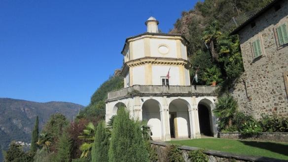 Chapel of Sant'Antonio da Padova of Santa Maria del Sasso Morcote