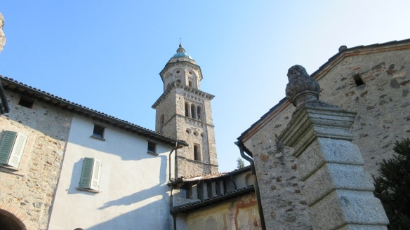 Arrived at the church of Santa Maria del Sasso.