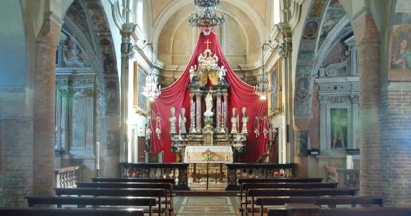 Main Altar of the Church Santa Maria del Sasso
