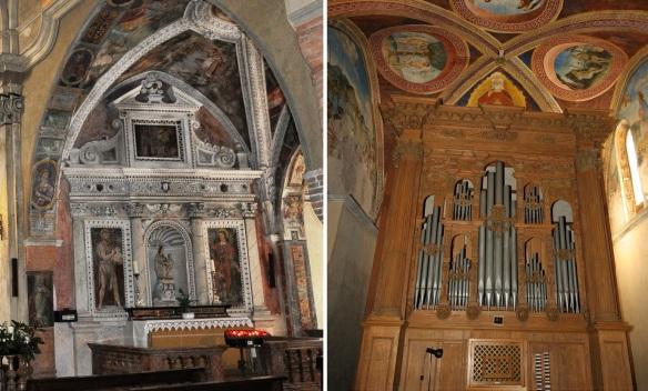 Interior of the Church of Santa Maria del Sasso