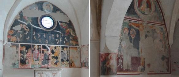 Interior of the Chapel of Sant'Antonio da Padova