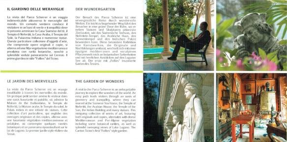 Brochure of Scherrer Park