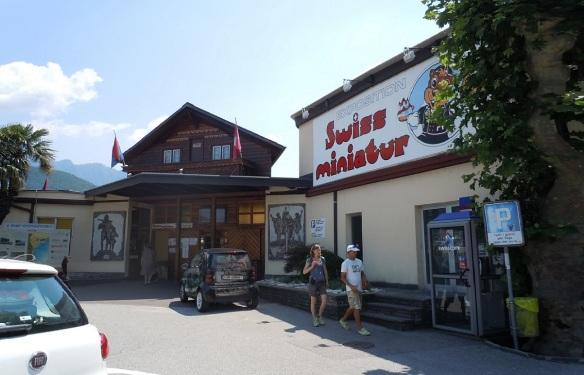 Entrance of Swissminiatur Melide