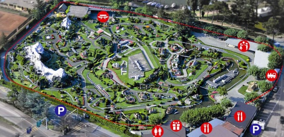 Swissminiatur Park Map