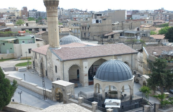 Şirvani Mosque, view from the Gaziantep Castle