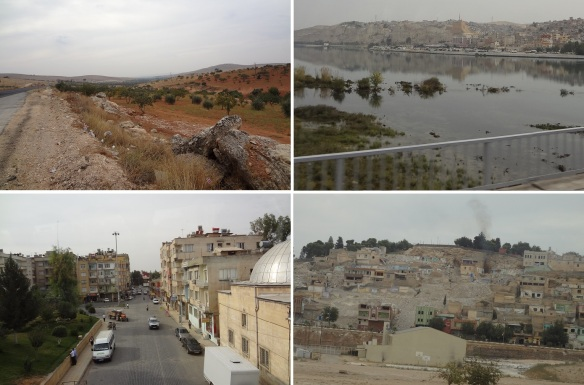 From Gaziantep, across the Euphrates River, going to Şanlıurfa.