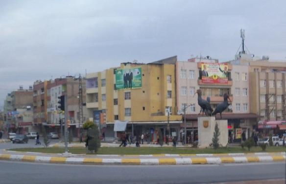Arrived at the city of Şanlıurfa.