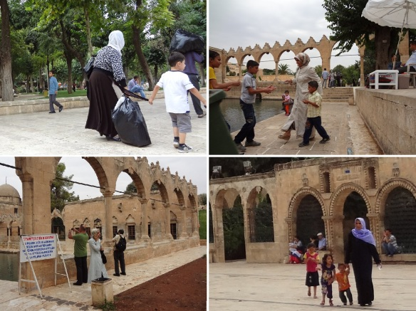 Many of the local people were going to the Mevlid-I Halil Mosque.