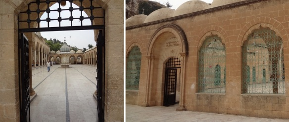 Through this gate to the Mevlid-I Halil Mosque.