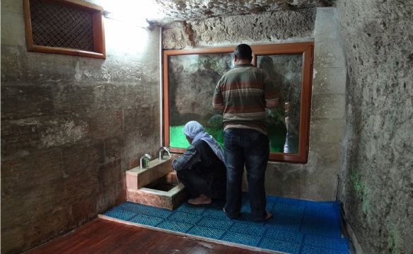 Small Wudu; You also cleanse yourself here.