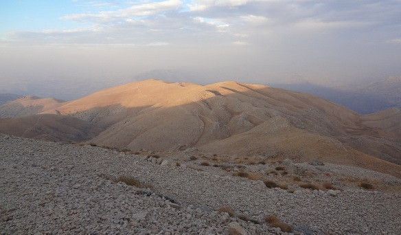 View from Mount Nemrut