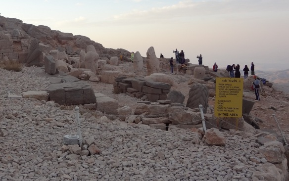 The West Terrace of Mount Nemrut