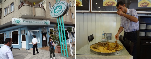 """Restaurant """"Selim Amca"""" and cooking main dish, my friend really love it."""