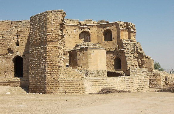 Destroyed Harran Castle