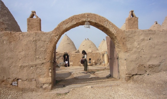 Getting into Harran village.