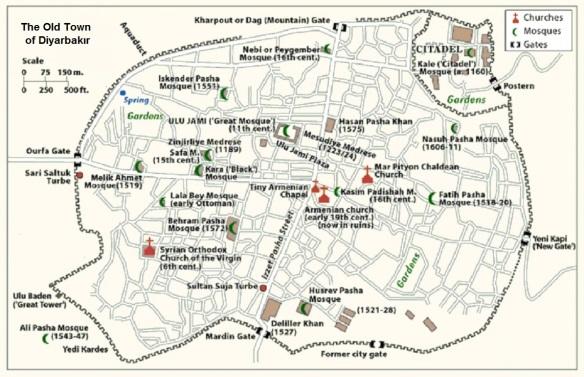 Diyarbakır City Plan