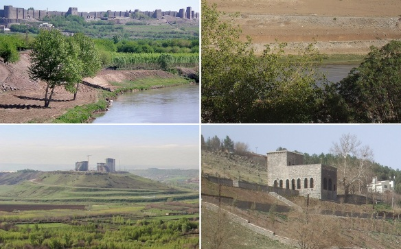 Scenery onthe way going to the Dicle Bridge.