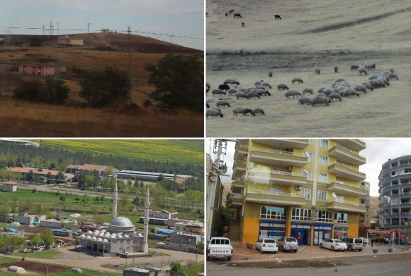 Photos, on the way from Diyarbakır to the little town of Silvan.