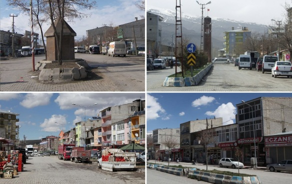 Views from the town centre of Muradiye