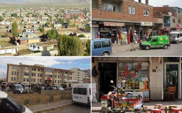 The town of Doğubayazıt