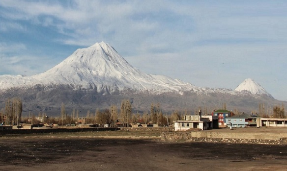 Mt. Ararat (left) and Little Ararat (right)