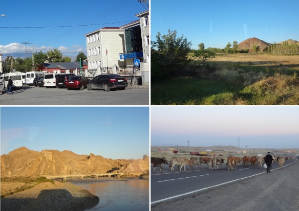 From Noah's Ark National Park Visitor Center going to the town of Kars. It took 40 minutes (45 km).