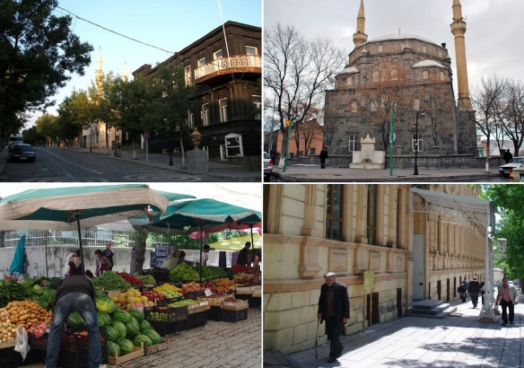 Strolled the town of Kars after breakfast.