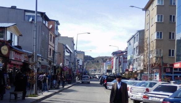 The town center of Kars
