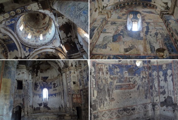 Frescoes of the church of St Gregory