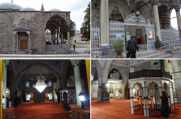 Entrance and Interior of Lala Mustafa Pasha Mosque