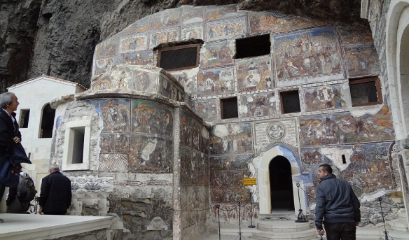 Rock Church of Sumela Monastery