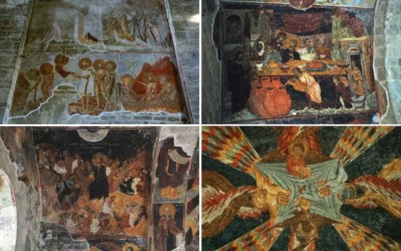 Amazing frescos of Saint Sophia