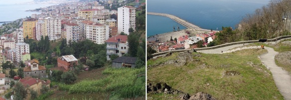 Walking up to the Giresun Castle