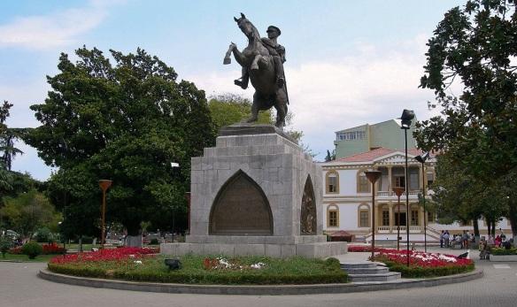 Honor Memorial (the statue of Kemal Atatürk)