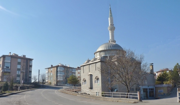 Arrived at Karabük, the New Mosque in the town.