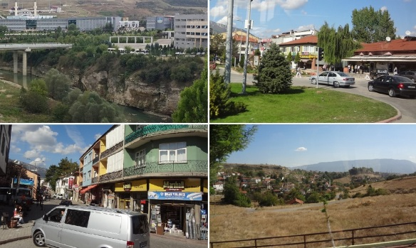 Photos from Karabük to Safranbolu Old Town; Araç River, Safranbolu new towns and going to the old town.