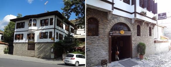 My reserved hotel, Kadıoğlu Şehzade Sofrası & Konakları.