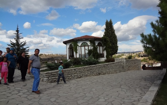 It would be time to say good-by to Fatima. I walked down the hill of Hidirlik.