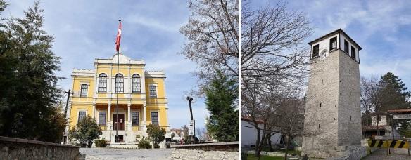 Kent Tarihi Muzesi (City History Museum) and Tarihi Saat Kulesi (Historic Clock Tower)