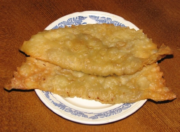 I tried a regional dish called Chiburekki in the restaurant.