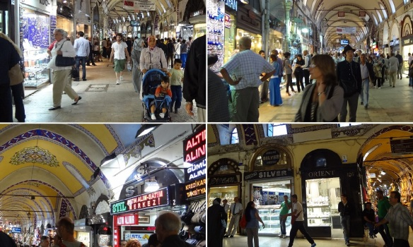 There are every goods in Grand Bazaar.